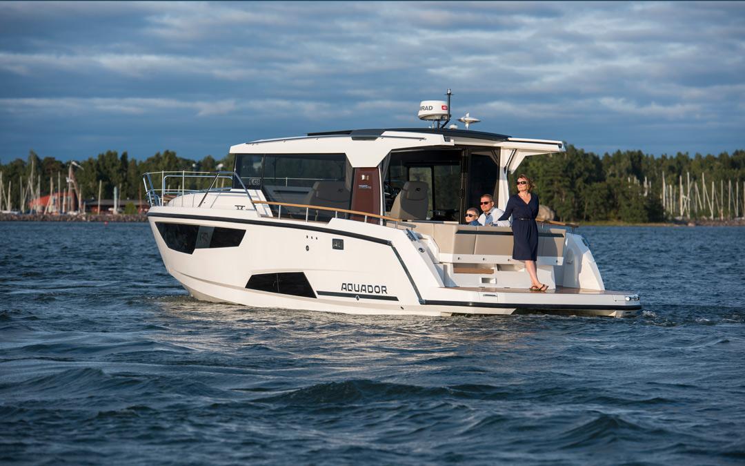 Nye Aquador 35 på lager!